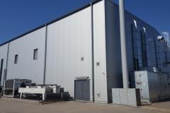 Firmengebäude der UNA-Synth